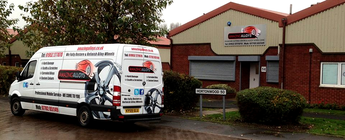 Amazing Alloys - Alloy Repair & Refurb in Telford, Shrewbury, Shropshire